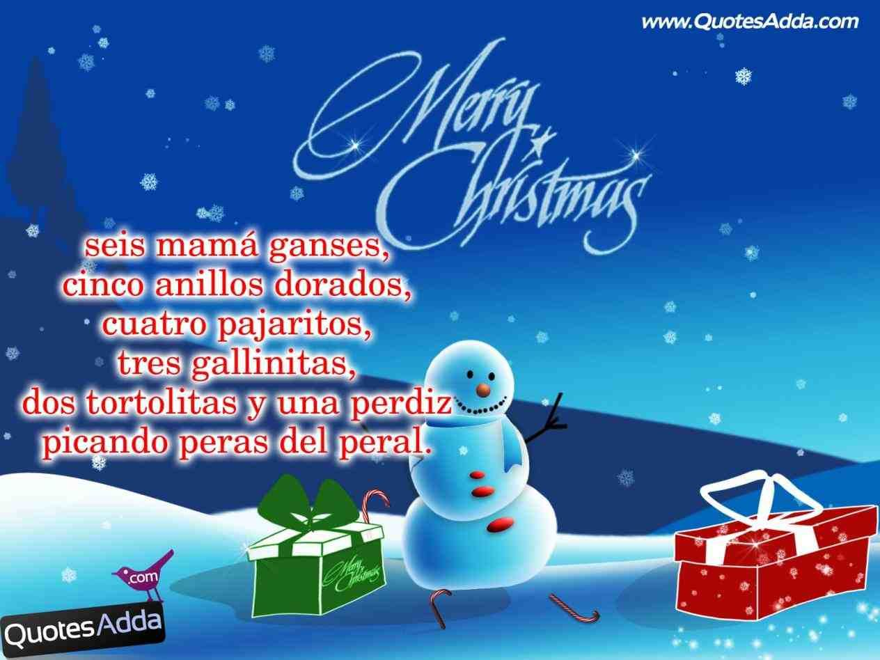 new post christmas quotes for cards in spanish