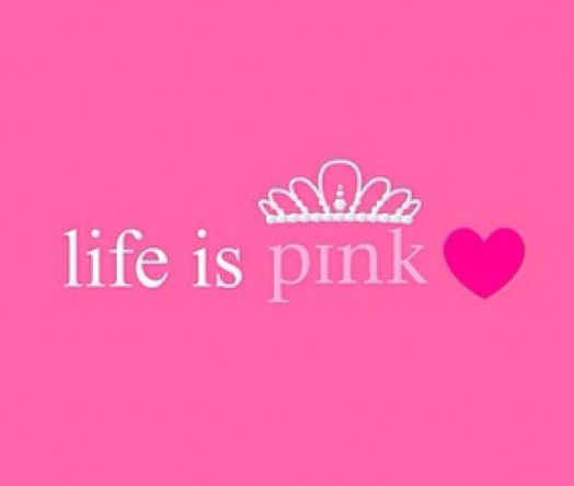 Life is pink