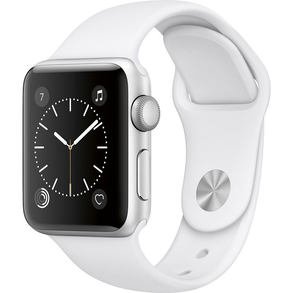 Apple Watch Series 2 - 38mm - Aluminum Case - White Sport Band