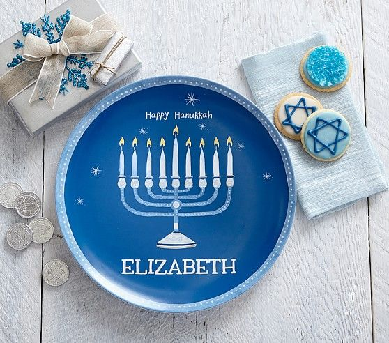 Hanukkah Personalized Plate Personalized Plates