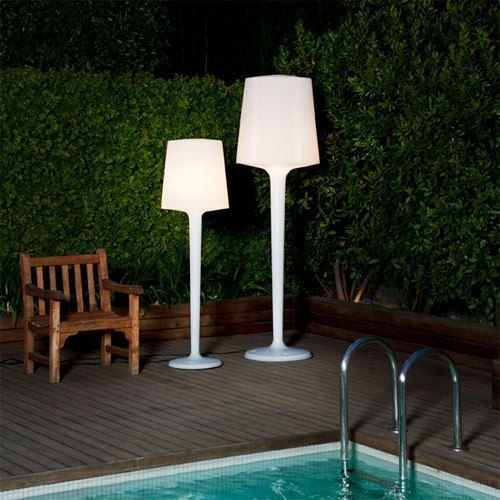10 Highly Coveted Outdoor Lighting Options For Spring Summer Outdoor Floor Lamps Floor Lamp Diy Floor Lamp