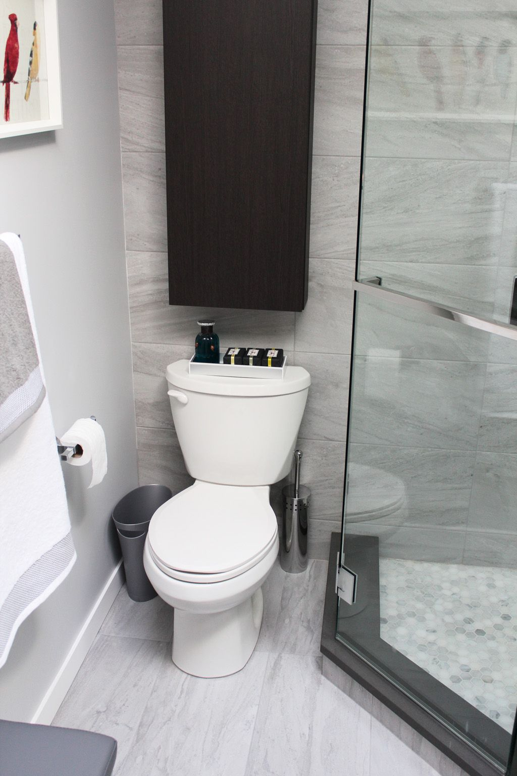 North Vancouver Bathroom Renovation Eagle Court - Ensuite | small ...