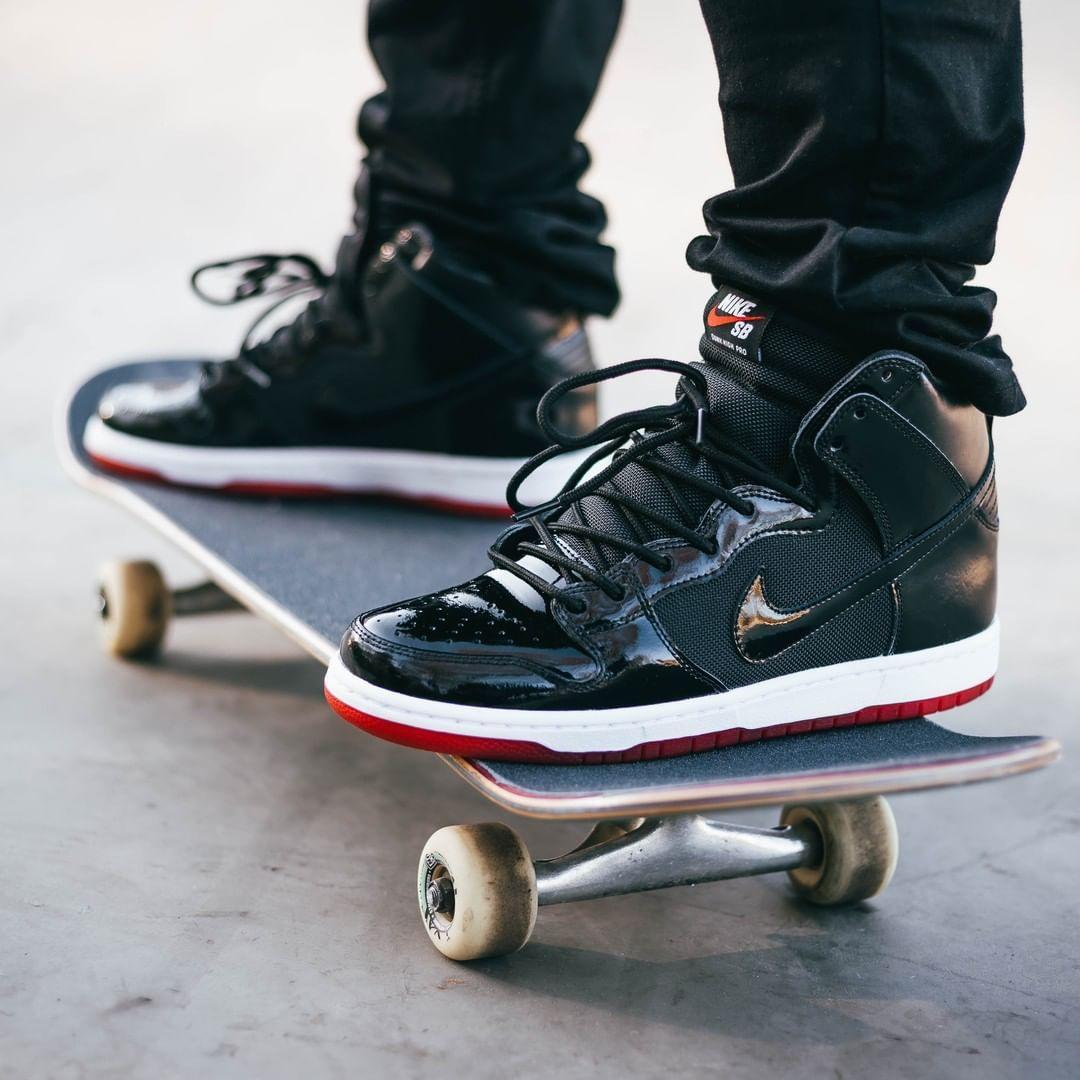 new product 207c0 b2bec Nike SB Dunk High « Jordan 11 » | Sneaker Freak | Nike sb ...