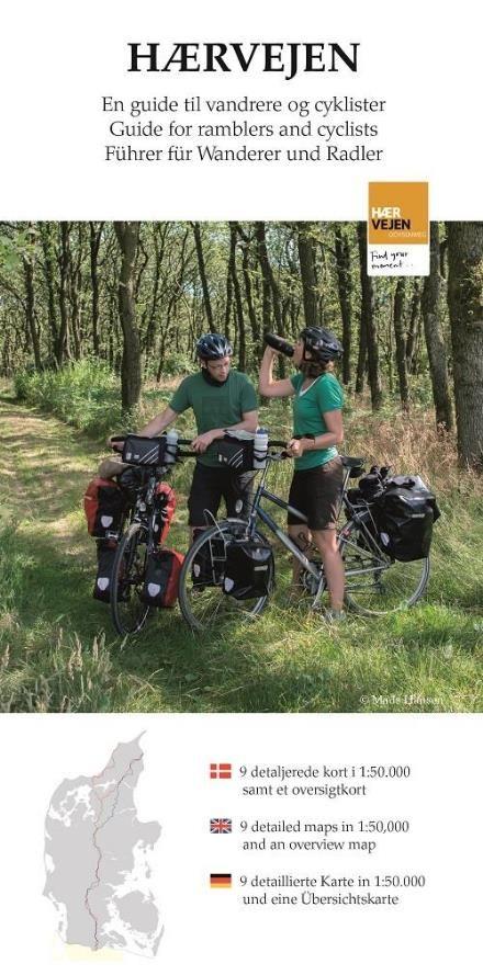 Laes Om Haervejen En Samlemappe Med Kort Til Vandrere Og Cyklister