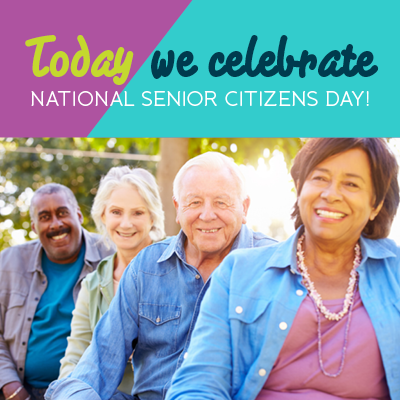 Happy NationalSeniorCitizensDay! No matter your age