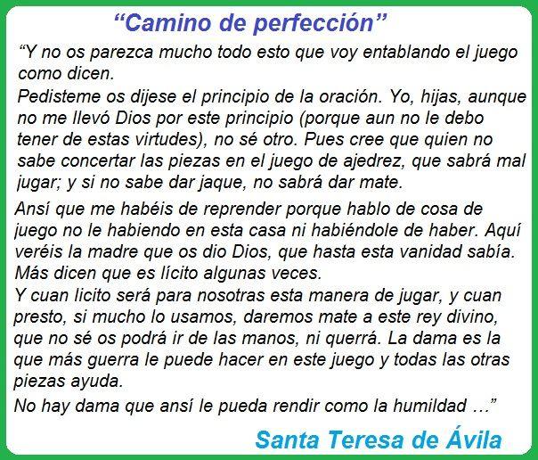 Camino a la perfección