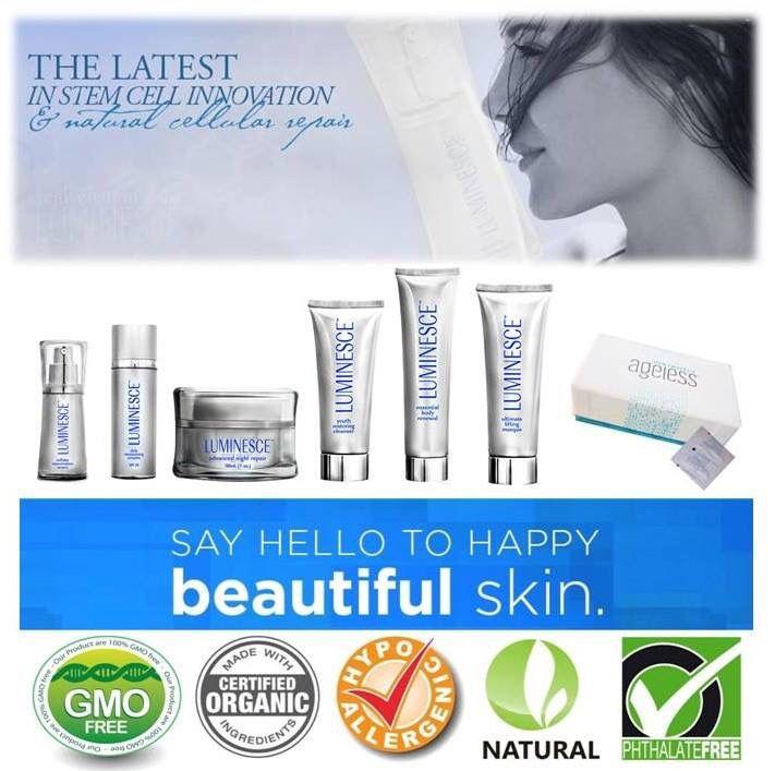 100% natural skin care range