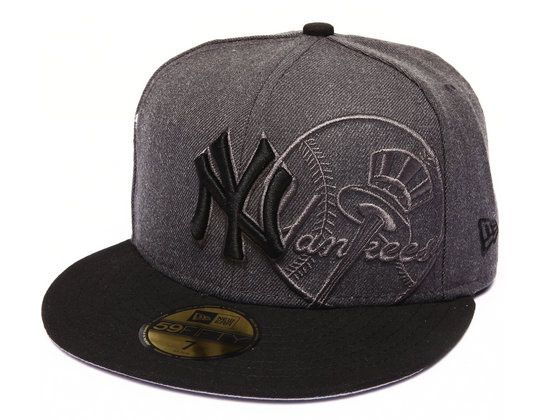 New York Yankees Screening Redux 59Fifty Fitted Cap by NEW ERA x MLB ... 1670d0c5e478
