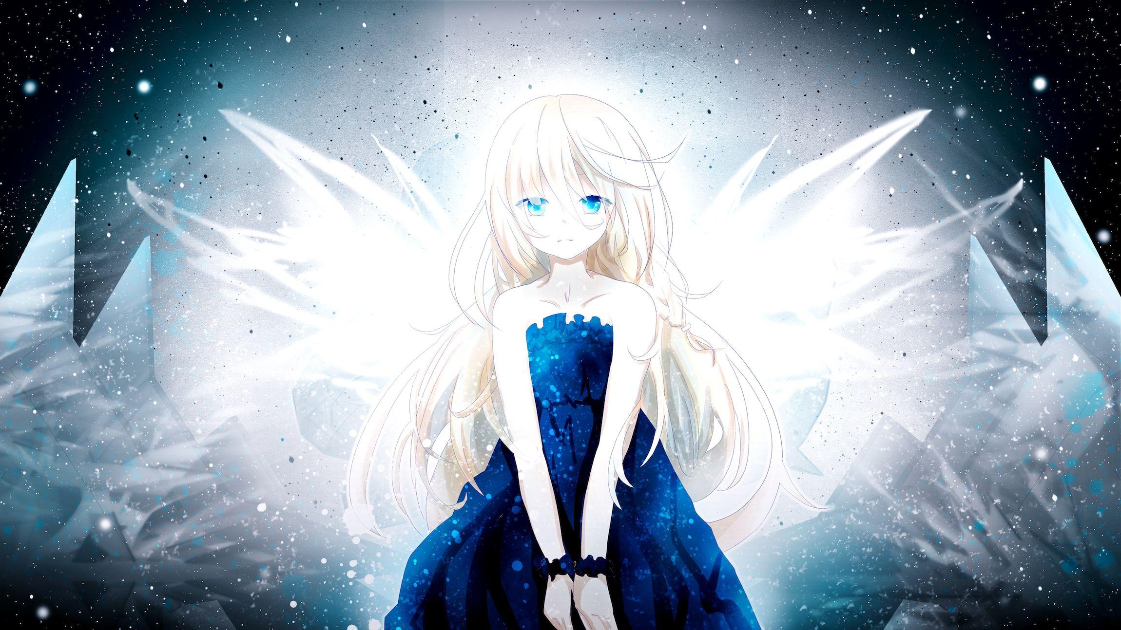 Blonde Hair Blue Eyes Dress Ia Long Hair Suzuair Bellsuzu