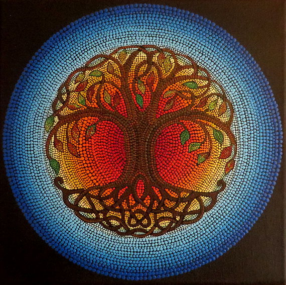 The Tree Of Life Is Used In Art Literature And Religion To