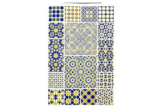 Blue Patterns I Framed Print on OneKingsLane.com