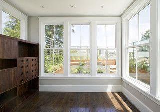 Sunroom Window Moulding Baseboard Styles Home White Windows