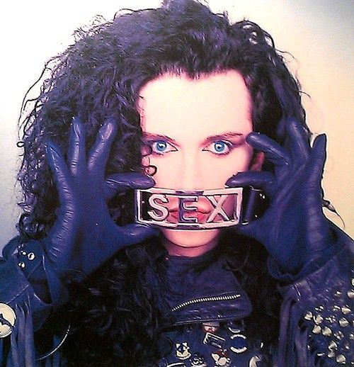 Pete Burns of Dead Or Alive.