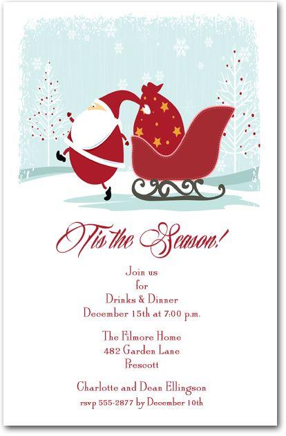 Pin On Christmas And Holiday Invitations