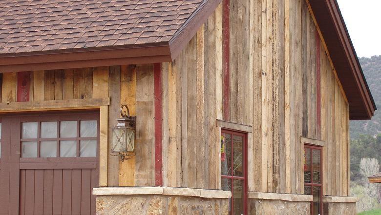 Antique Barnwood Painted Siding Wood Siding Modern Rustic Homes House Siding