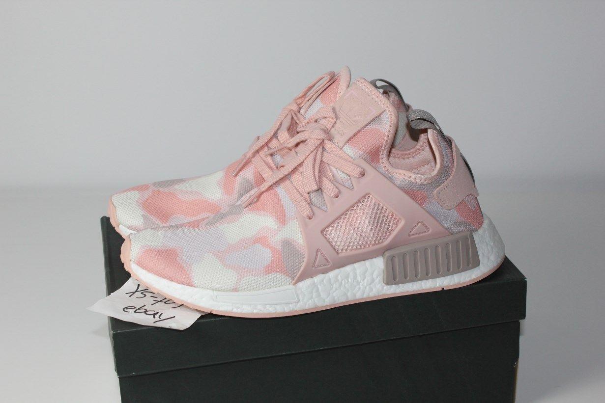 ed5849c29bab4 Adidas NMD XR1 W Duck Camo Pink Womens BA7753 White Vapour 10.5 Rose Salmon  R1 P