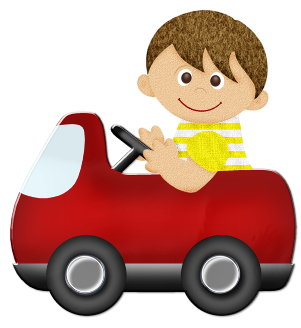 Pin By Mrs Wilson On Easy Decoupage For Children S Cards Baby Driving Car Clip Art Baby Boy Toys