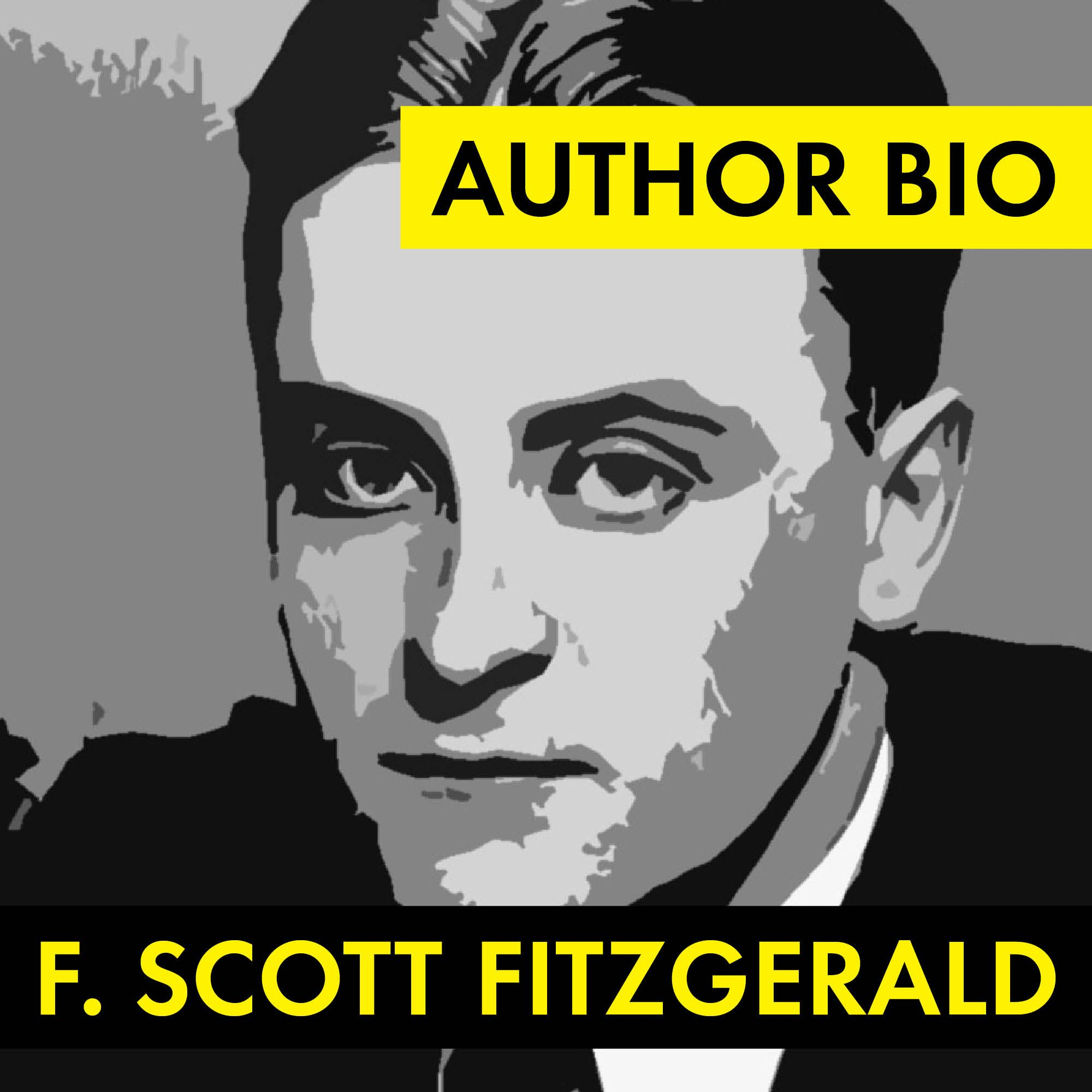F Scott Fitzgerald Author Study Worksheet Easy Biography