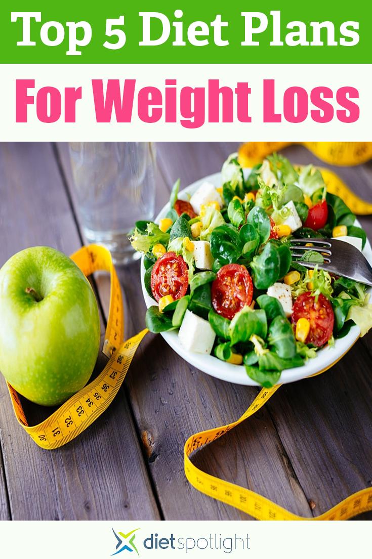 Top 5 Diet Plans of 2019