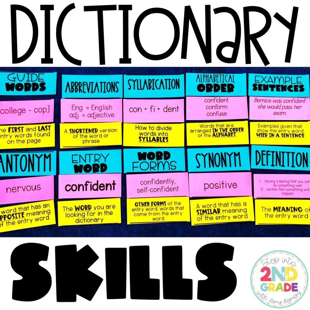 Dictionary Skills Freebie