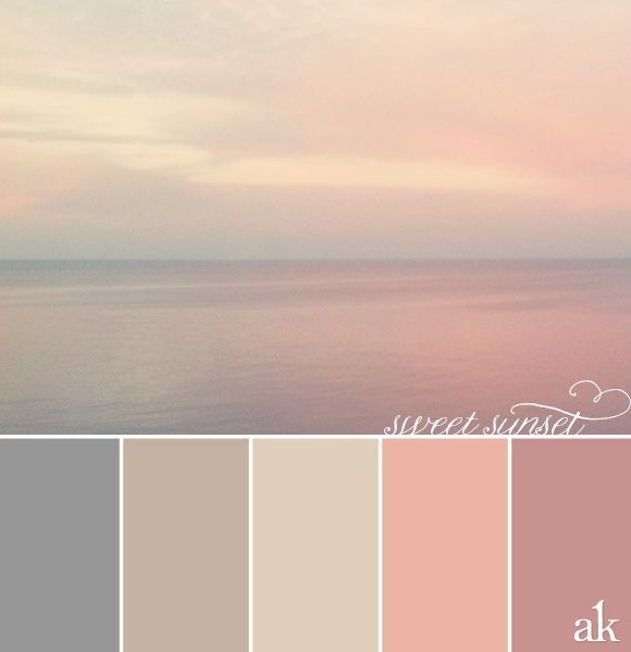 color palettes sunset inspired color palette gray taupe
