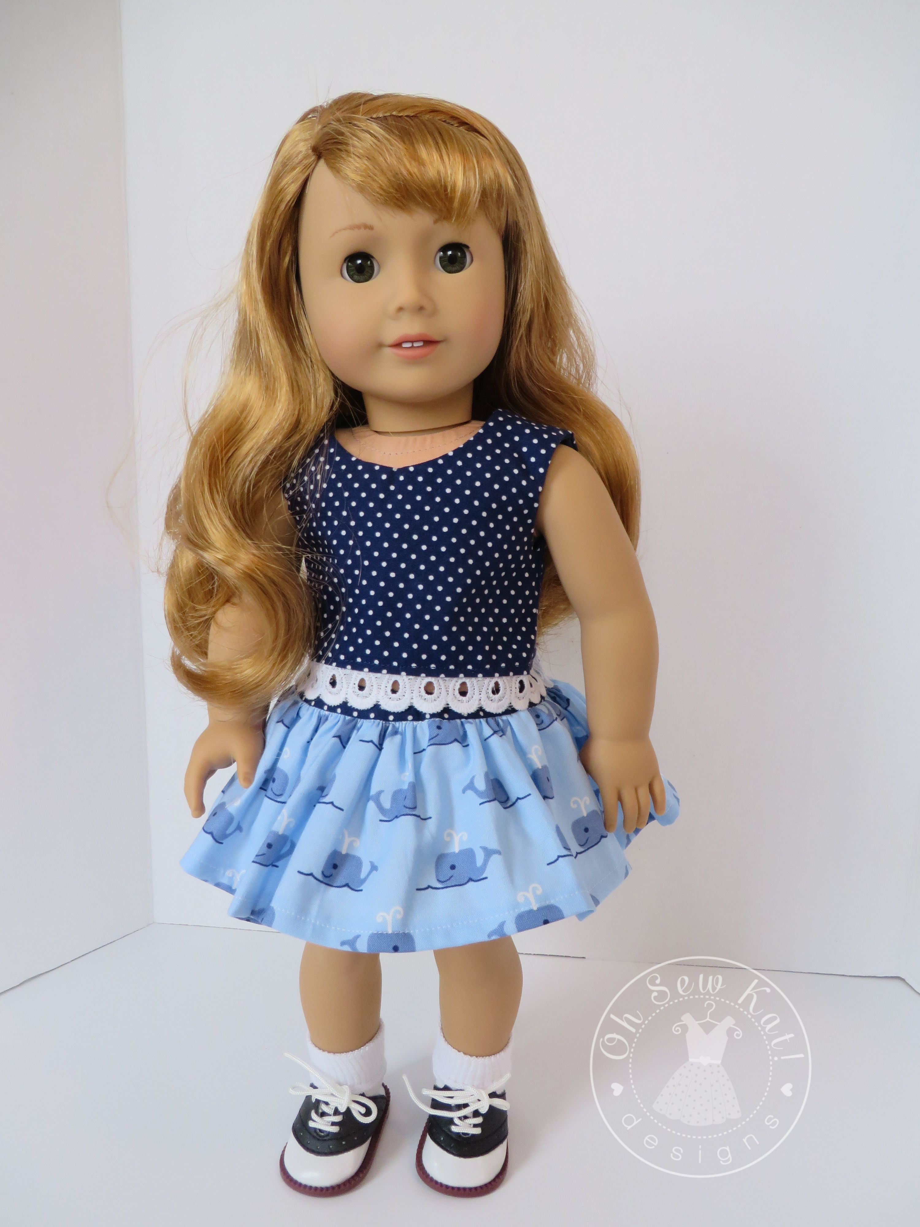 Free skirt pattern for dolls at ohsewkat.com. Easy to sew doll ...