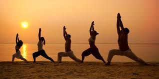 Image Result For Funny Group Yoga Poses