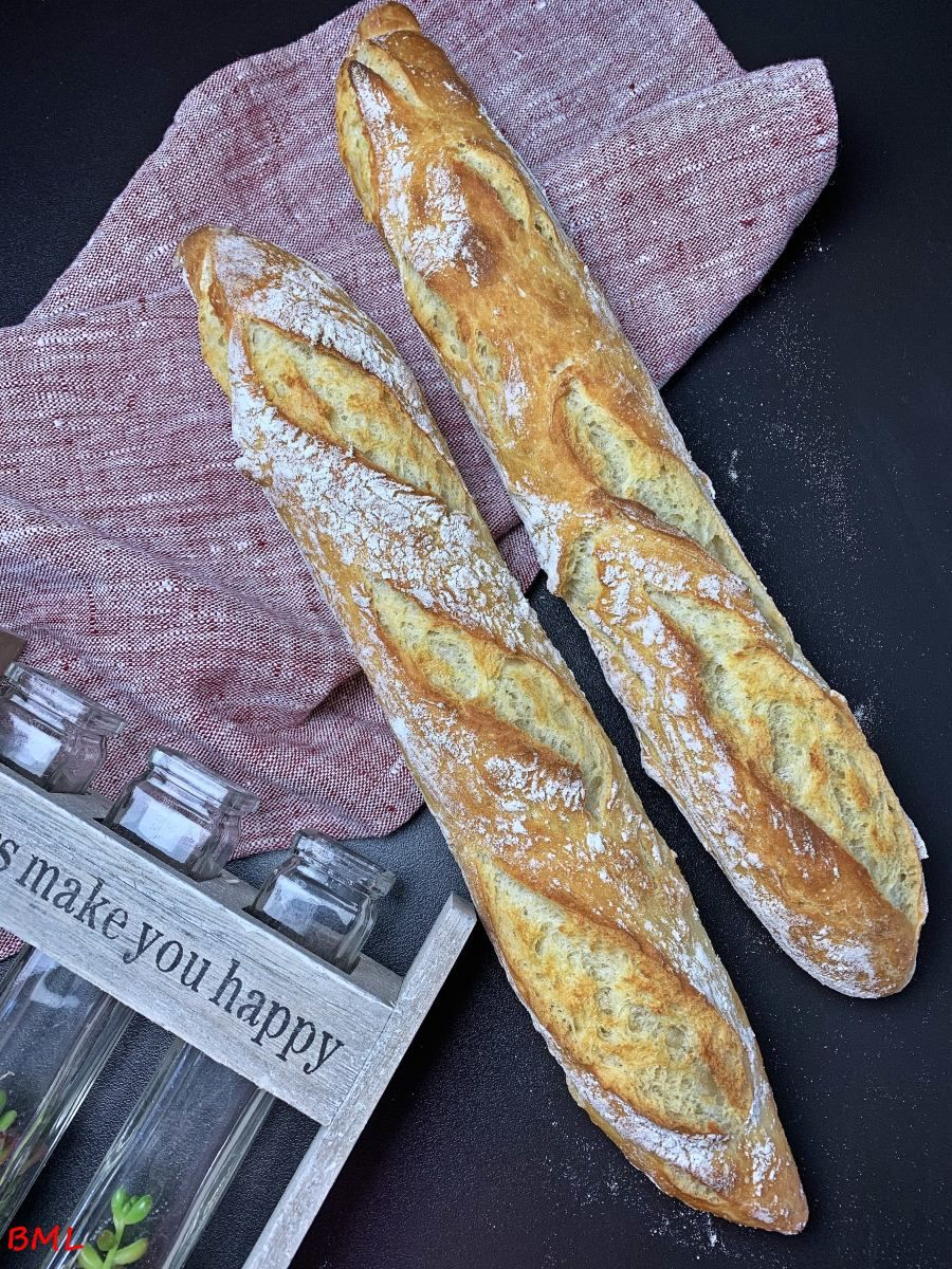 Einfaches Baguettebrot…magisches Baguette #frenchtoastrollups
