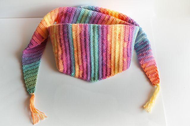 Crochet Baktus Scarf And Shawl By Tammi Palmer Free Crochet