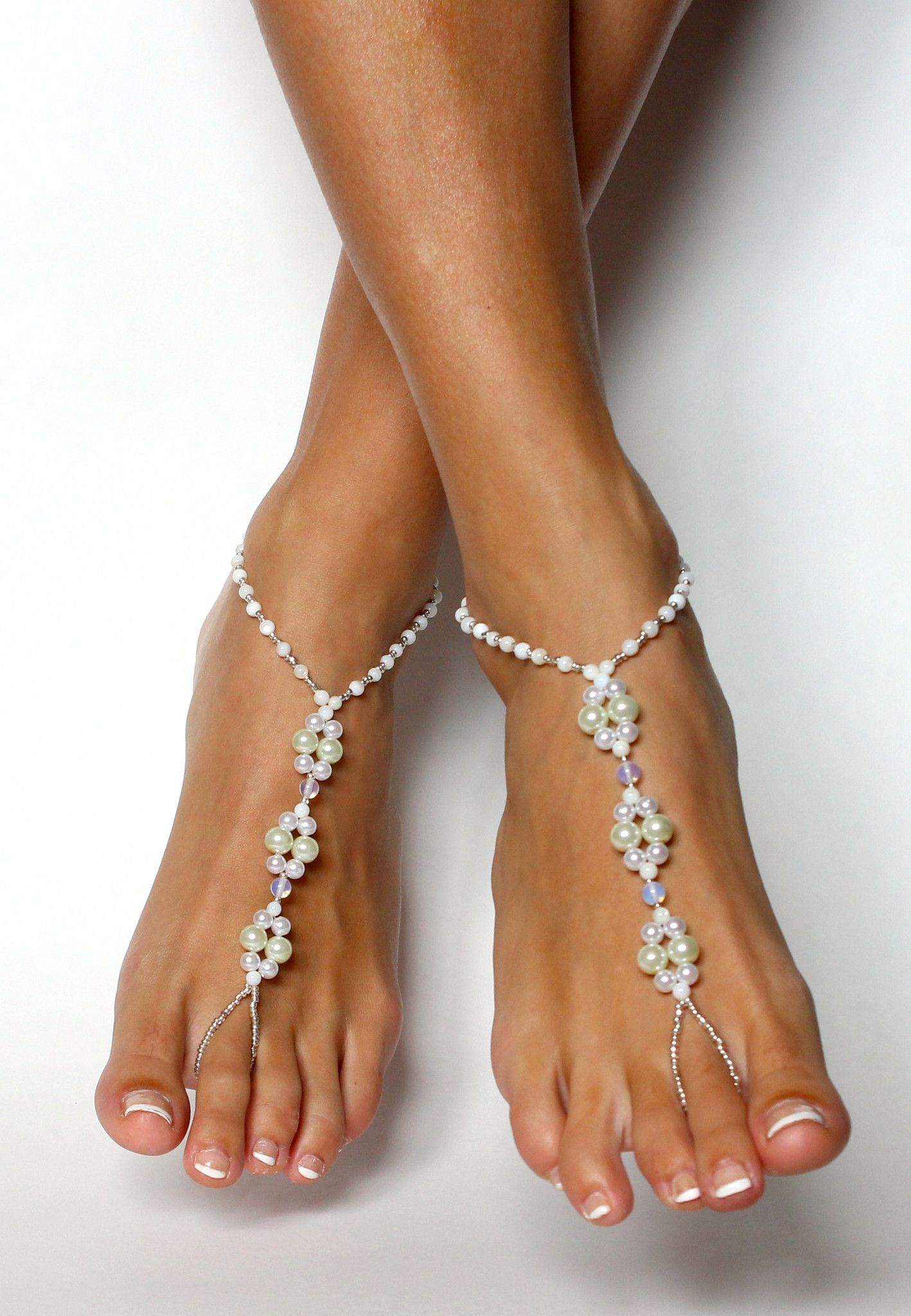 Barefoot Wedding Jewelry for Your Feet from Bare Sandals Bare Foot