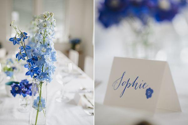 Alles Blau Blaue Hochzeitsideen Und Totale Begeisterung Tischdekoration Hochzeit Blumen Karte Hochzeit Und Blumenschmuck Hochzeit