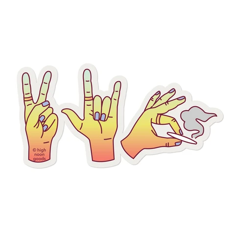 Photo of Peace, Love, & Weed