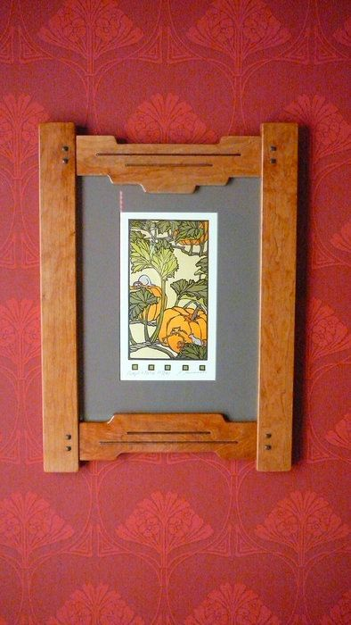 Continuation Of Greene Greene Frames Frame Crafts Arts Crafts Style Arts And Crafts Furniture