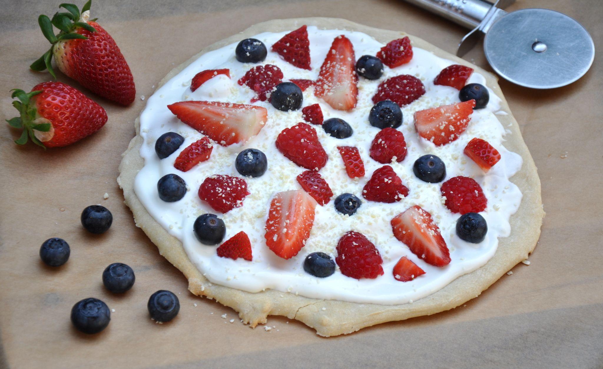 Susse Pizza Mit Frischen Fruchten Blog Nordhessenmami Pinterest