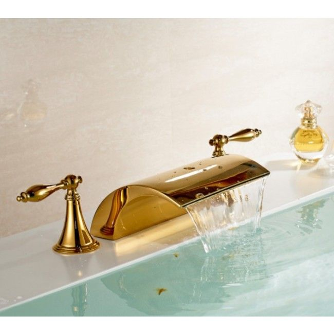 Juno Gold Chrome Finish Bathroom Basin Sink Faucet With Images