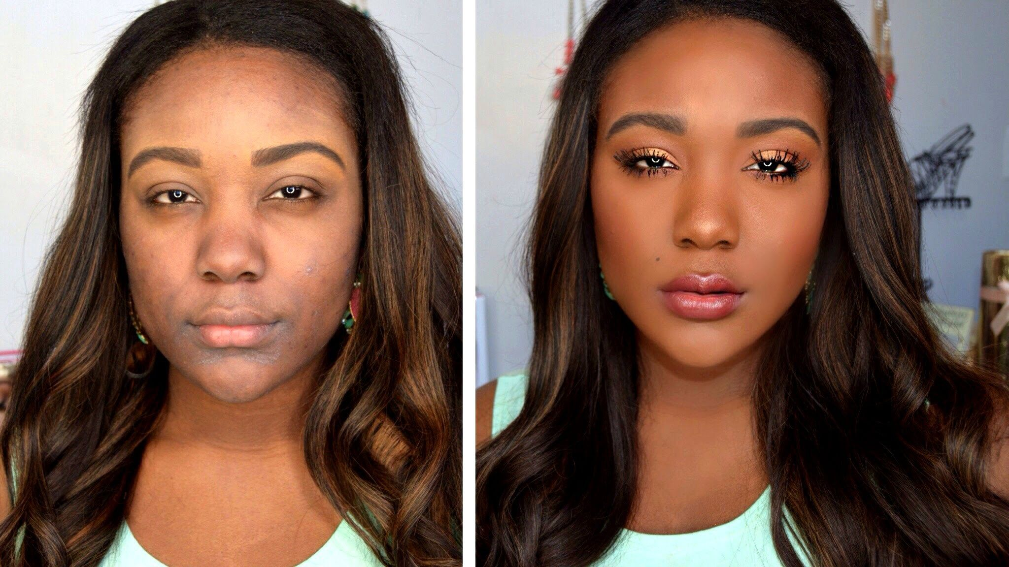 how to: makeup tips for black women - everyday makeup tutorial