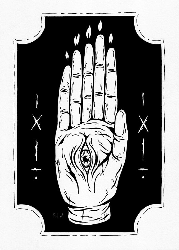 Lucifer Satan Satanic Illustration Cursed 666 Baphomet Occult