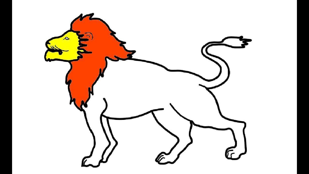 wie zeichnet man löwe malvorlagen für kinder  tiere