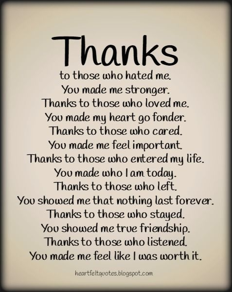 Thanks Quotes Special Thanks  Pinteresting Quotes  Pinterest  Heartfelt Quotes