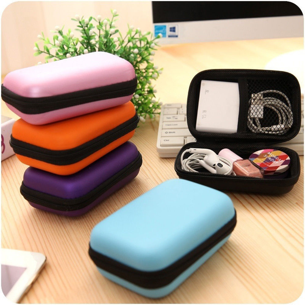 Protection Carrying Hard Case Bag Storage Box For Headphone Earphone Headset