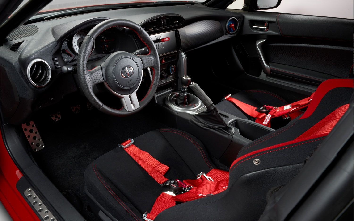 2017 Scion Fr S Toyota Pro Celebrity Race Car Interior Steering Wheel Photo On March 8