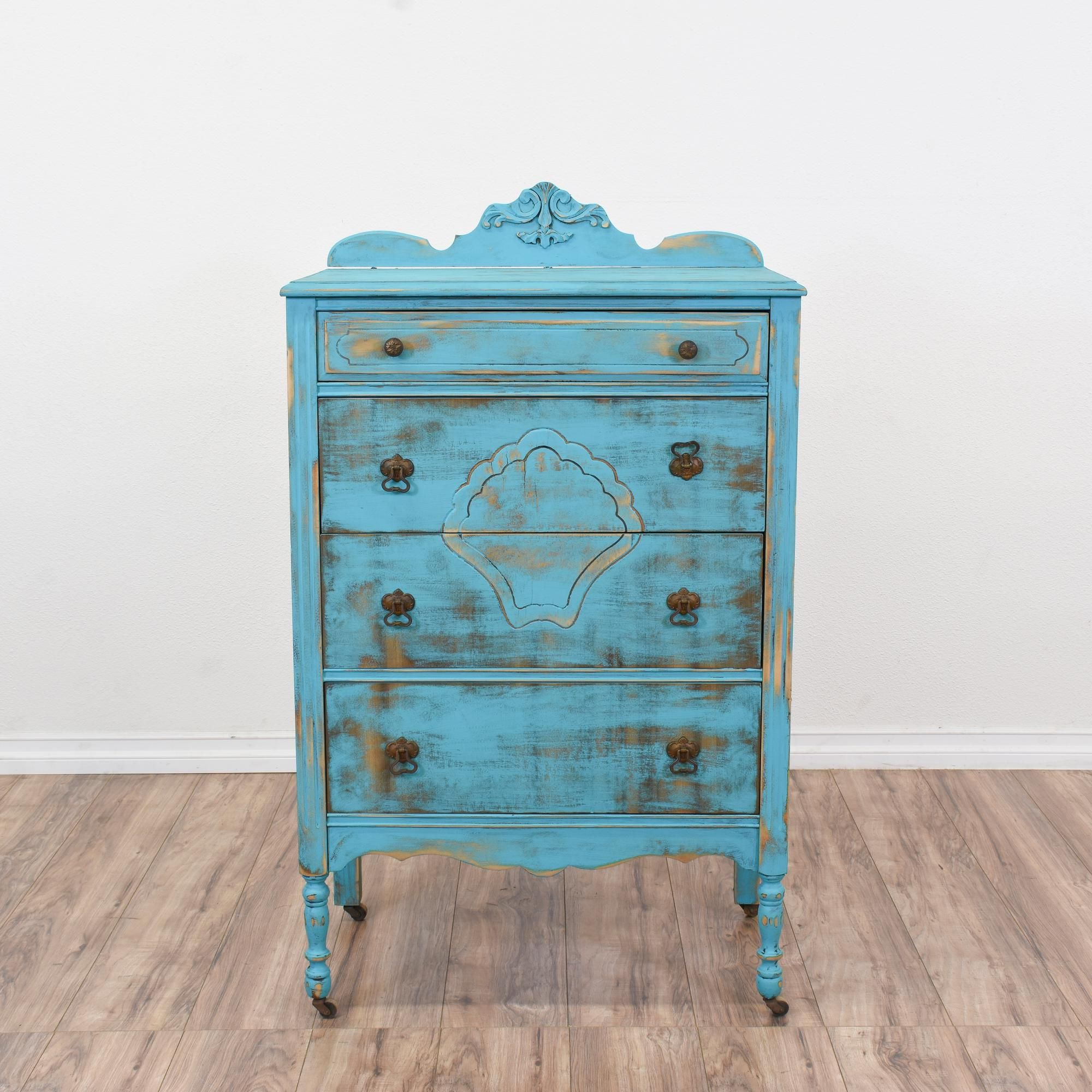 with raw shabby wood featured dresser blue this chalk paint great drawers of chic is list a in chest pin solid green painted