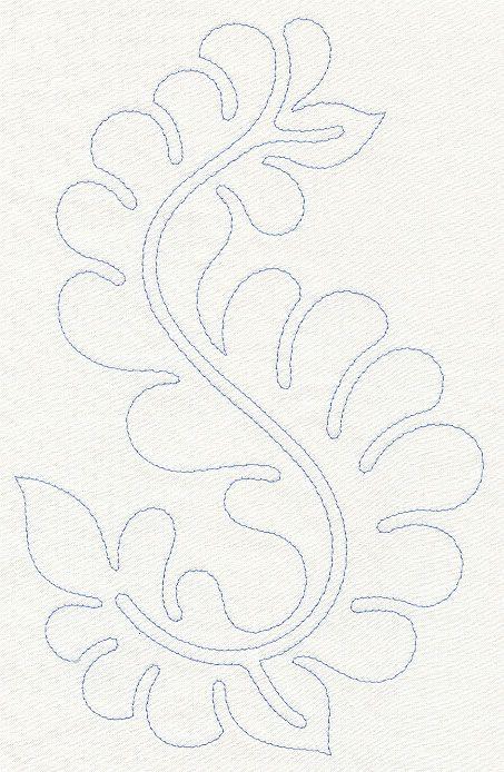Tambour embroidery pattern. Bordado con ganchillo. Patrón. Línea ...