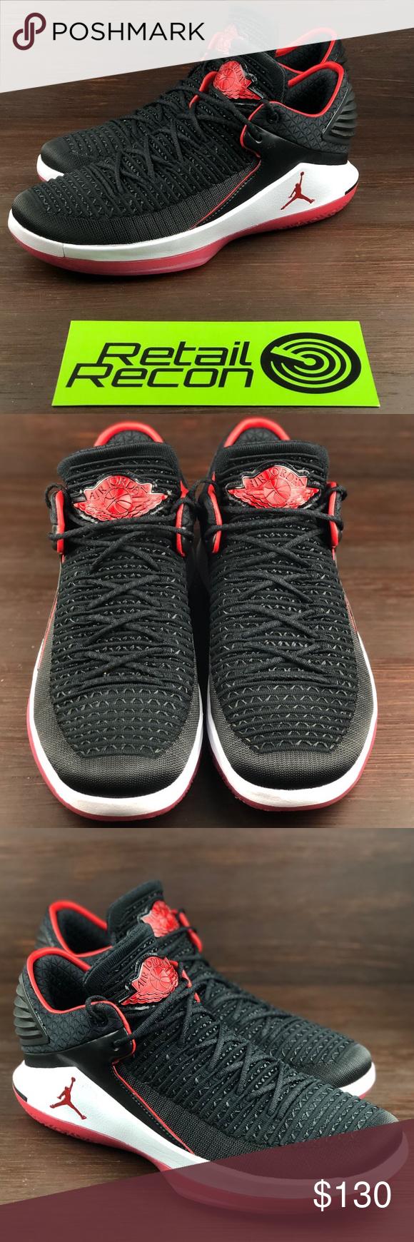 fa0729f4fdd0dd Nike Air Jordan XXXII 32 Low Banned Bred  MJ Day  Condition  Brand ...