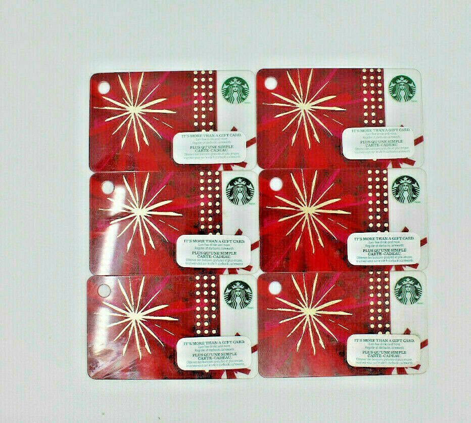 Details about starbucks coffee 2014 gift card mini