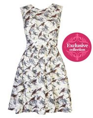 **EXCLUSIVE** Emily and Fin Lucy dress, autumn bird