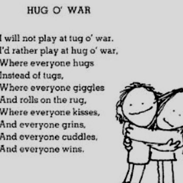 Keep in mind for national hug day *Jan 21st* Silverstein