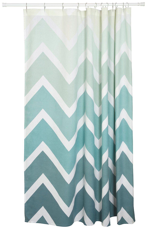 Chevron shower curtain with anchor - Amazon Com Danica Studio Shower Curtain Odyssey Anchor Shower Curtain