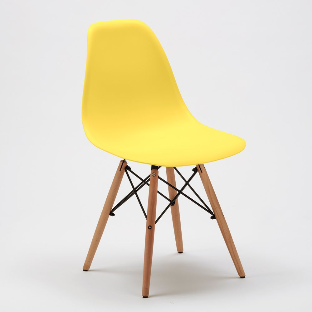 Dsw Wooden Eames Design Chair For Kitchens Bars Waiting Rooms Chair Design Chair Home Furniture