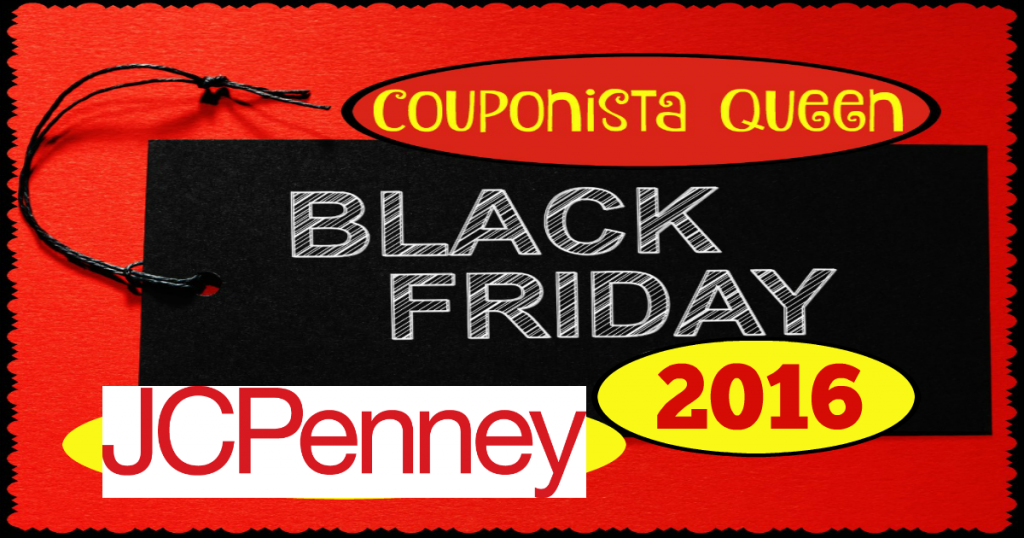 Check out this Black Friday ad from JCPenney and plan